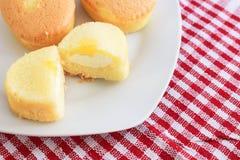 Torta del desayuno Fotografía de archivo