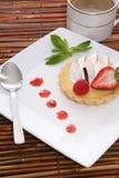 Torta del dessert del limone Fotografia Stock Libera da Diritti