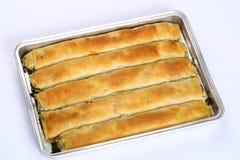 Torta del formaggio, Patty - Borek immagini stock