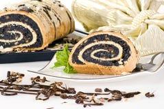 Torta del germen de amapola Foto de archivo libre de regalías