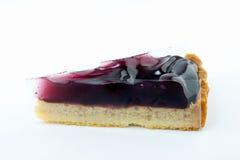 Torta del grafico a torta di mirtillo Immagini Stock