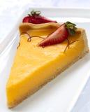 Torta del limone Immagini Stock