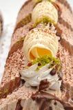 Torta del limone Immagine Stock