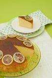 Torta del limone Immagini Stock Libere da Diritti