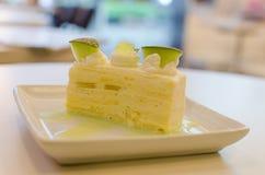 Torta del melón Fotografía de archivo libre de regalías