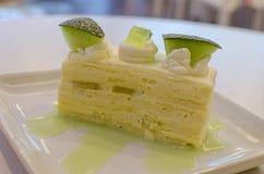 Torta del melón Fotografía de archivo