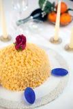 Torta del Mimosa Imagen de archivo