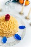 Torta del Mimosa Fotos de archivo