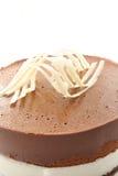Torta del mouse del cioccolato Fotografia Stock Libera da Diritti