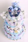 Torta del pañal Foto de archivo libre de regalías