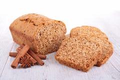 Torta del pan de jengibre fotografía de archivo libre de regalías