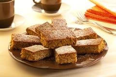 Torta del pan di zenzero Immagini Stock Libere da Diritti