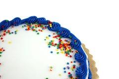 Torta del partido Foto de archivo libre de regalías