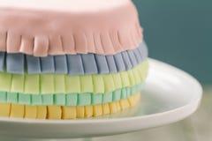Torta del Pinata Foto de archivo libre de regalías