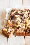Torta del ruibarbo Imagen de archivo libre de regalías