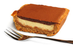 Torta del soplo del chocolate foto de archivo libre de regalías