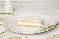 Torta del sudor con leche Foto de archivo