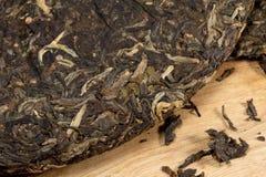 Torta del tè di Puer Fotografia Stock Libera da Diritti