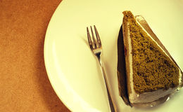Torta del tè verde Immagini Stock Libere da Diritti