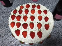 torta del thee Imagen de archivo libre de regalías