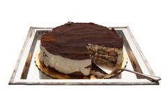 Torta del Tiramisu Imágenes de archivo libres de regalías