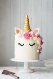 Torta del unicornio imagen de archivo libre de regalías