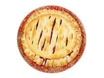 Torta deliciosa da cereja Imagem de Stock