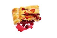 Torta deliciosa da cereja Foto de Stock Royalty Free