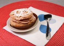 Torta de la almendra Fotografía de archivo libre de regalías