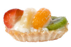 Torta deliciosa de la fruta Imagen de archivo