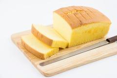 Torta deliciosa de la mantequilla Foto de archivo libre de regalías