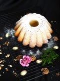 Torta deliciosa de Pascua fácil cocer foto de archivo libre de regalías