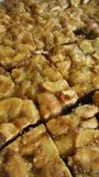 Torta deliciosa del caramelo Foto de archivo libre de regalías