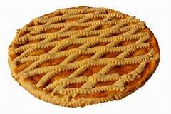 Torta dell'ostruzione dell'albicocca dalla prima colazione, cucina italiana Immagini Stock