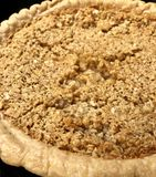 Torta della farina d'avena Fotografia Stock