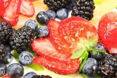 Torta della frutta Immagine Stock