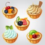 Torta della frutta royalty illustrazione gratis