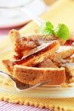 Torta della gelatina Immagini Stock