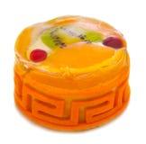 Torta della gelatina di frutta Immagini Stock