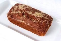 Torta dello zenzero Fotografia Stock
