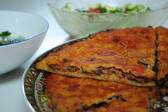 Torta di carne araba Immagine Stock Libera da Diritti