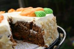 Torta di carota Fotografia Stock Libera da Diritti