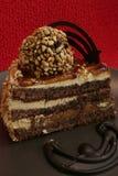 Torta di cioccolato Fotografia Stock Libera da Diritti