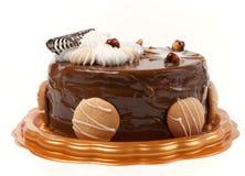 Torta di cioccolato. Fotografie Stock Libere da Diritti