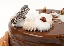 Torta di cioccolato. Fotografie Stock