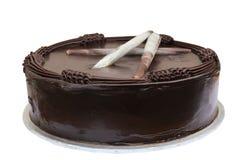 Torta di cioccolato immagini stock libere da diritti