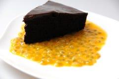 Torta di cioccolato Immagine Stock Libera da Diritti