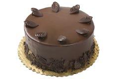 Torta di cioccolato gastronomica immagini stock libere da diritti