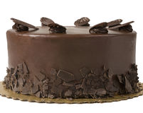 Torta di cioccolato gastronomica fotografia stock libera da diritti