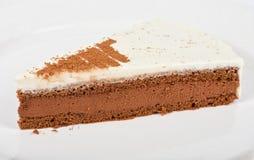 Torta di cioccolato saporita Immagine Stock